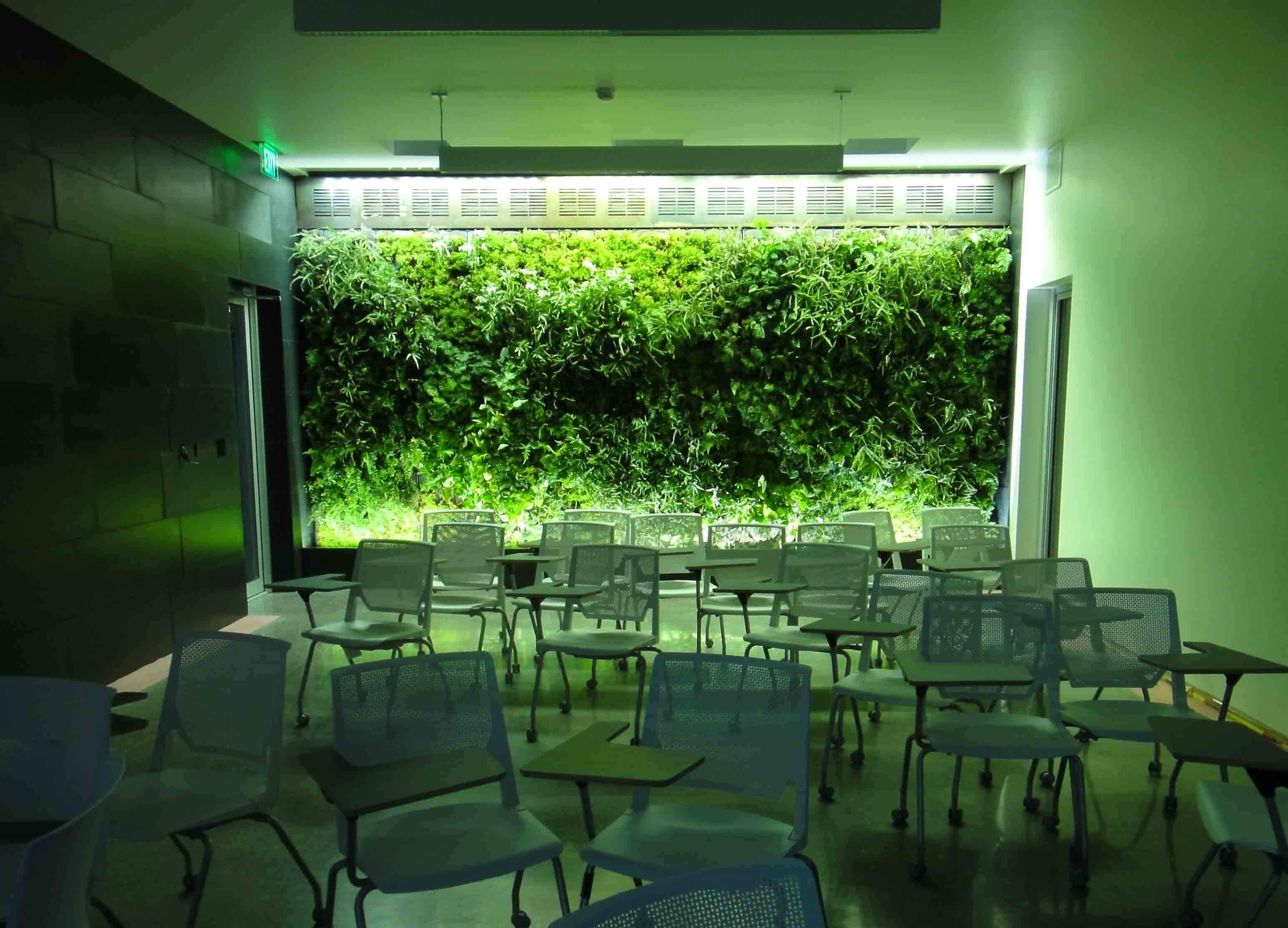 Lights For Green Wall : Green Wall Lighting Sunlite Science and Technology, Inc.