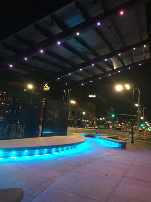 RGB Exterior Lighting Restaurant ...