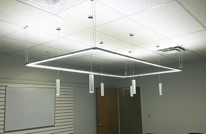 Commercial led lighting sunlite science and technology inc picture light 1 st30 linear marvin hall forum conference room aloadofball Choice Image