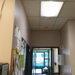 Office LED retrofit lighting