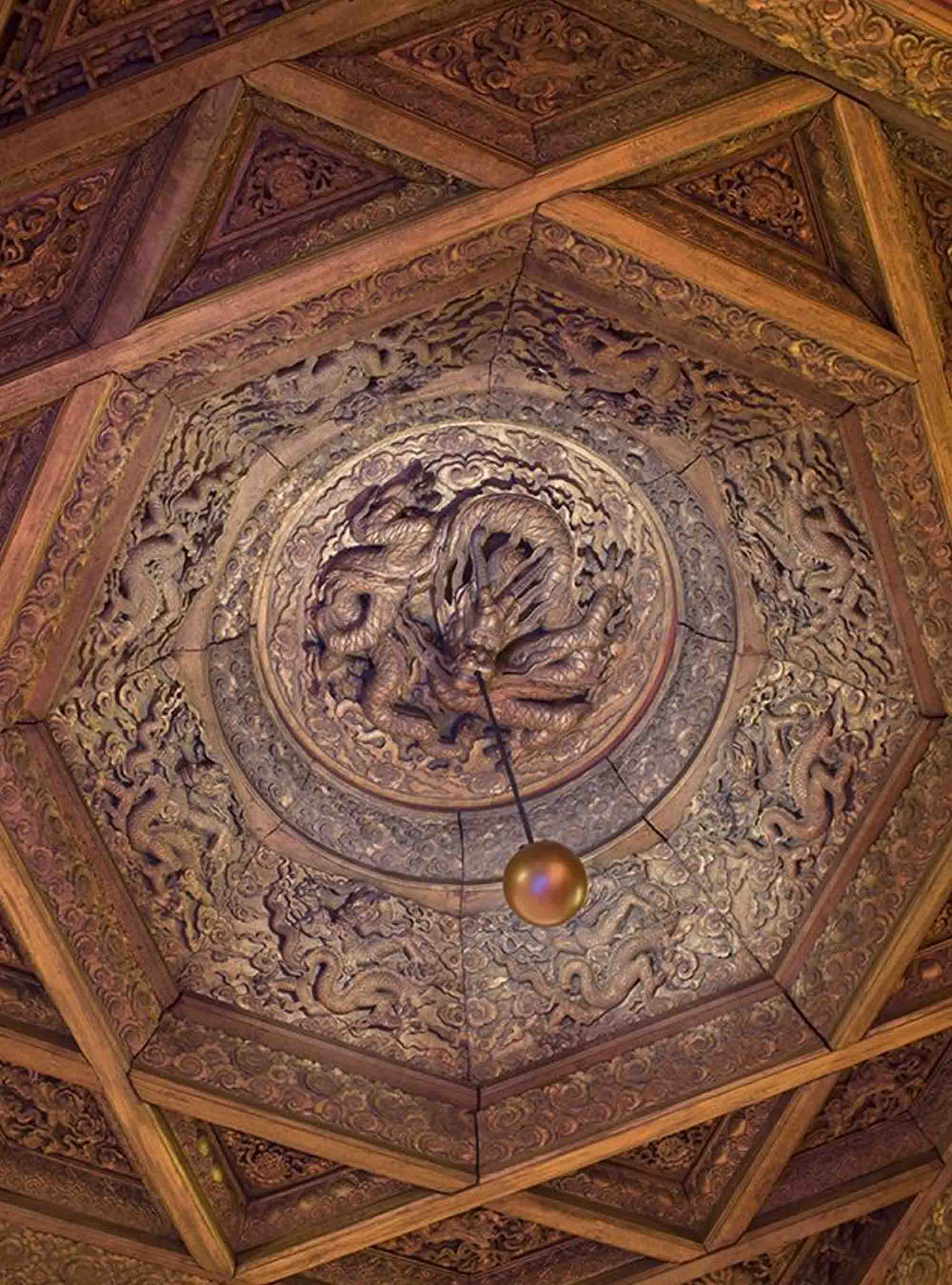 Dragon Ceiling Exhibit At Nelson Atkins Museum Of Art