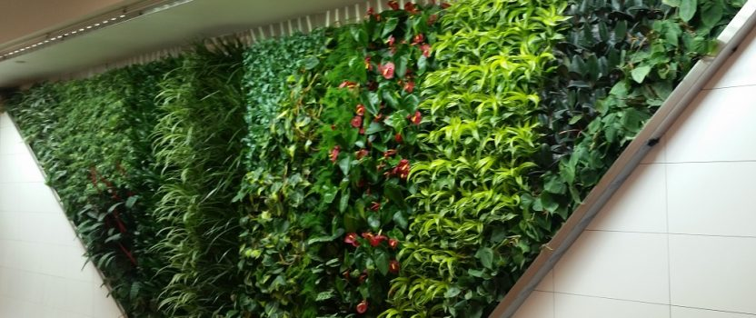 Gorgeous New Green Wall by Green Over Grey uses Sunlite's Fixtures!