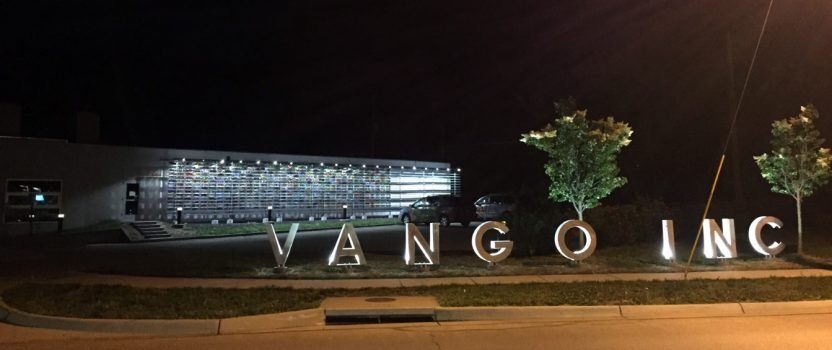 New Letter Sign for Van Go Inc.