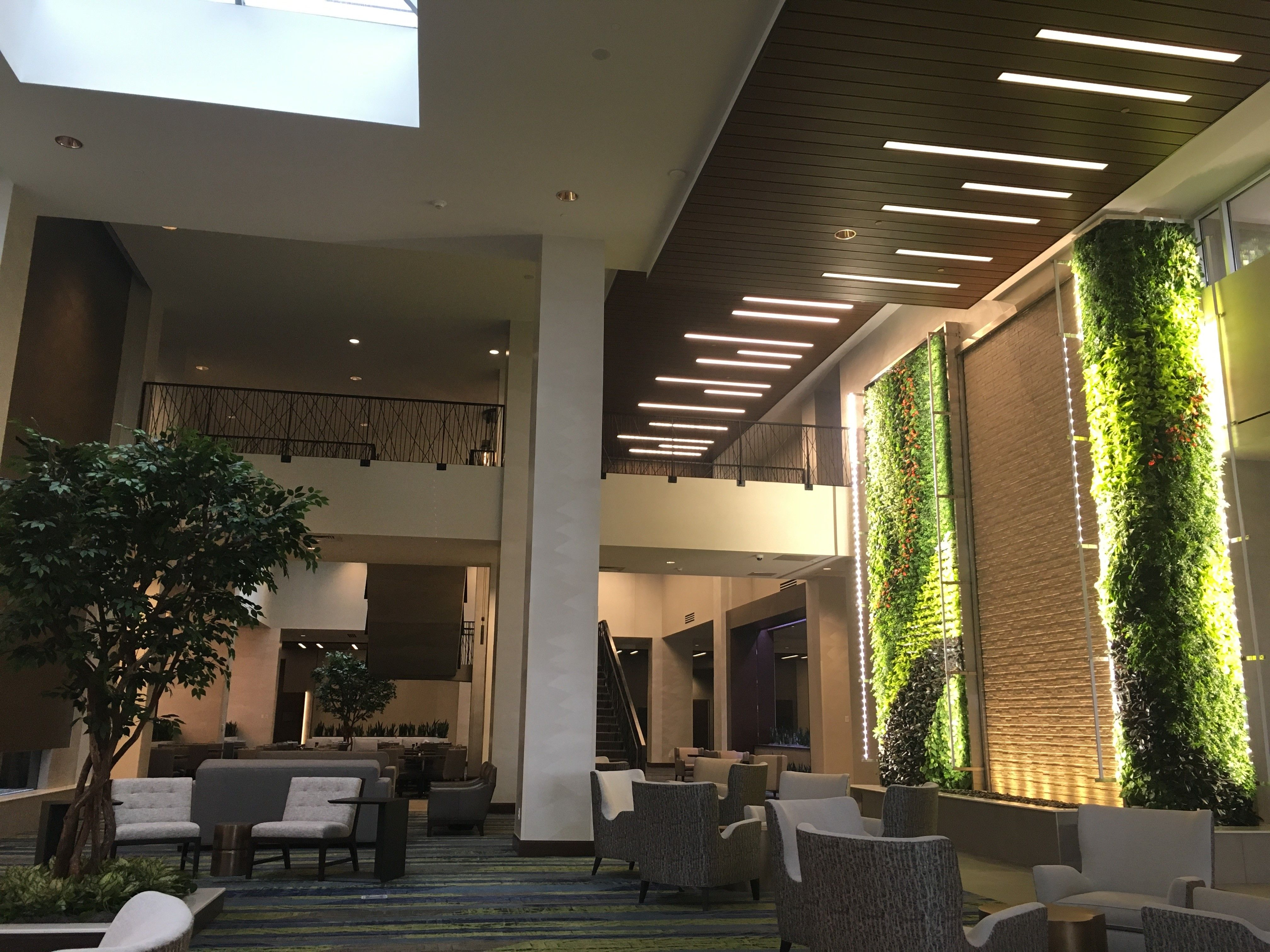 Green Wall At New Embassy Suites Hotel Sunlite Science